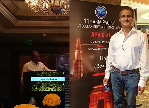 Diabetic Foot Lecture at APVIC XI Delhi